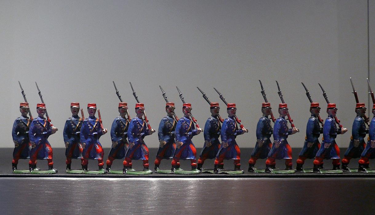 Petits soldats de plomb