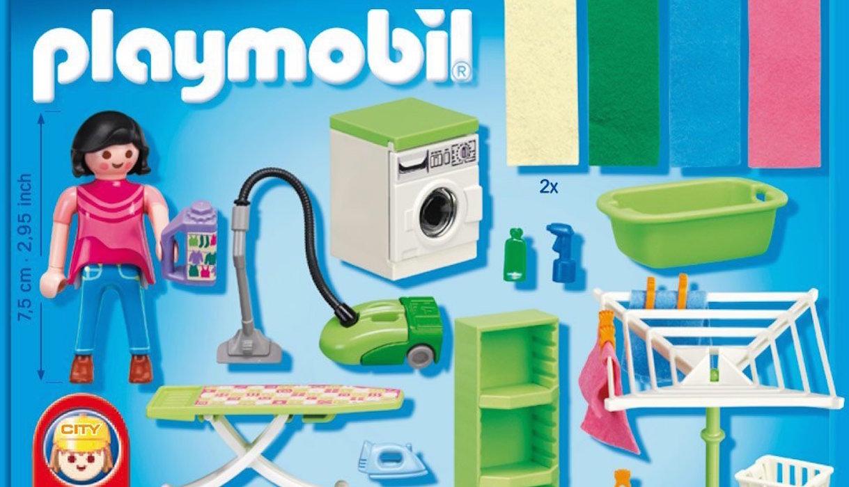 Jouet Playmobil ménagère