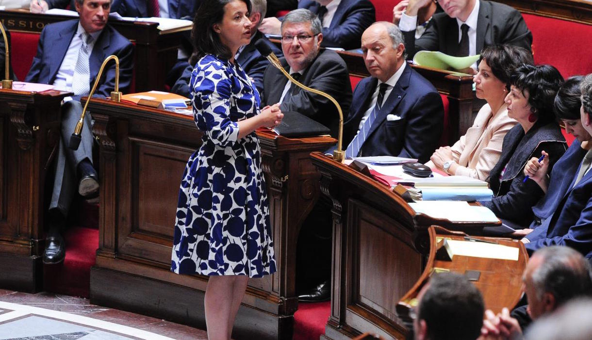 Cécile Duflot à l'Assemblée Nationale