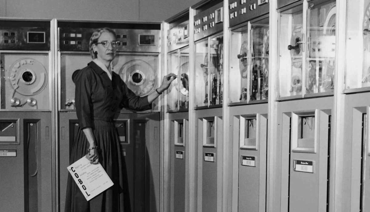 Grace Hopper pionnière de l'informatique